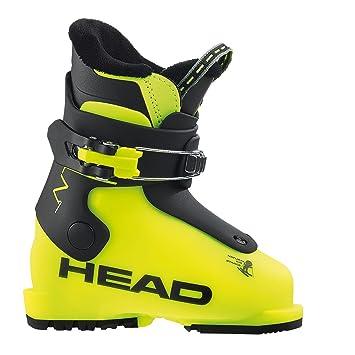 Head Z1 Skischuhe, Gelb 15.5 Schwarz