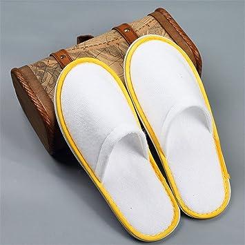 SPA-slippers Zapatillas desechables para spa y hotel Zapatillas para pies cerradas Zapatillas para interior