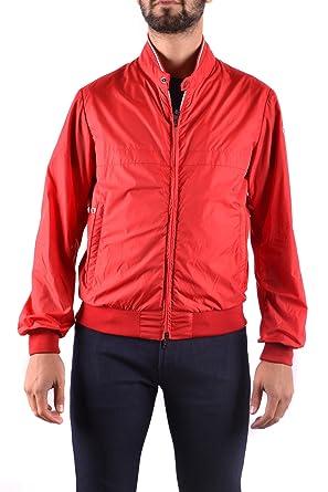 ba156ce5030b Moncler Homme Mcbi212053o Rouge Polyester Blouson  Amazon.fr ...