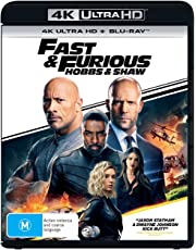 Fast & Furious: Hobbs & Shaw (2 Disc) (4K Ultra HD + Blu-Ray)
