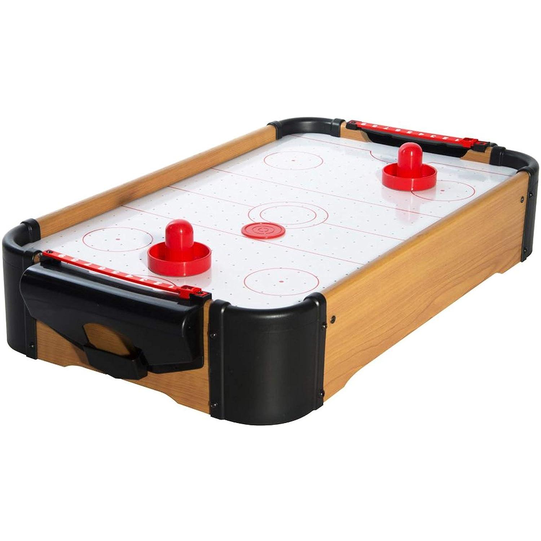 8 de Trèfle 36-2G-006 Mini Air hockey de table Avec 2 poussoirs 2 palets et 2 compteurs Bois et plastique Le Studio