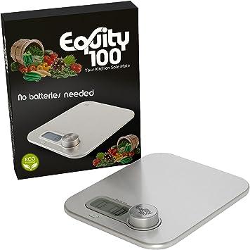 Ultra Thin profesional digital de cocina alimentos y nutrición escala – Escala de pesaje de alimentos multifunción con pantalla LCD por equity100: Amazon.es: Hogar