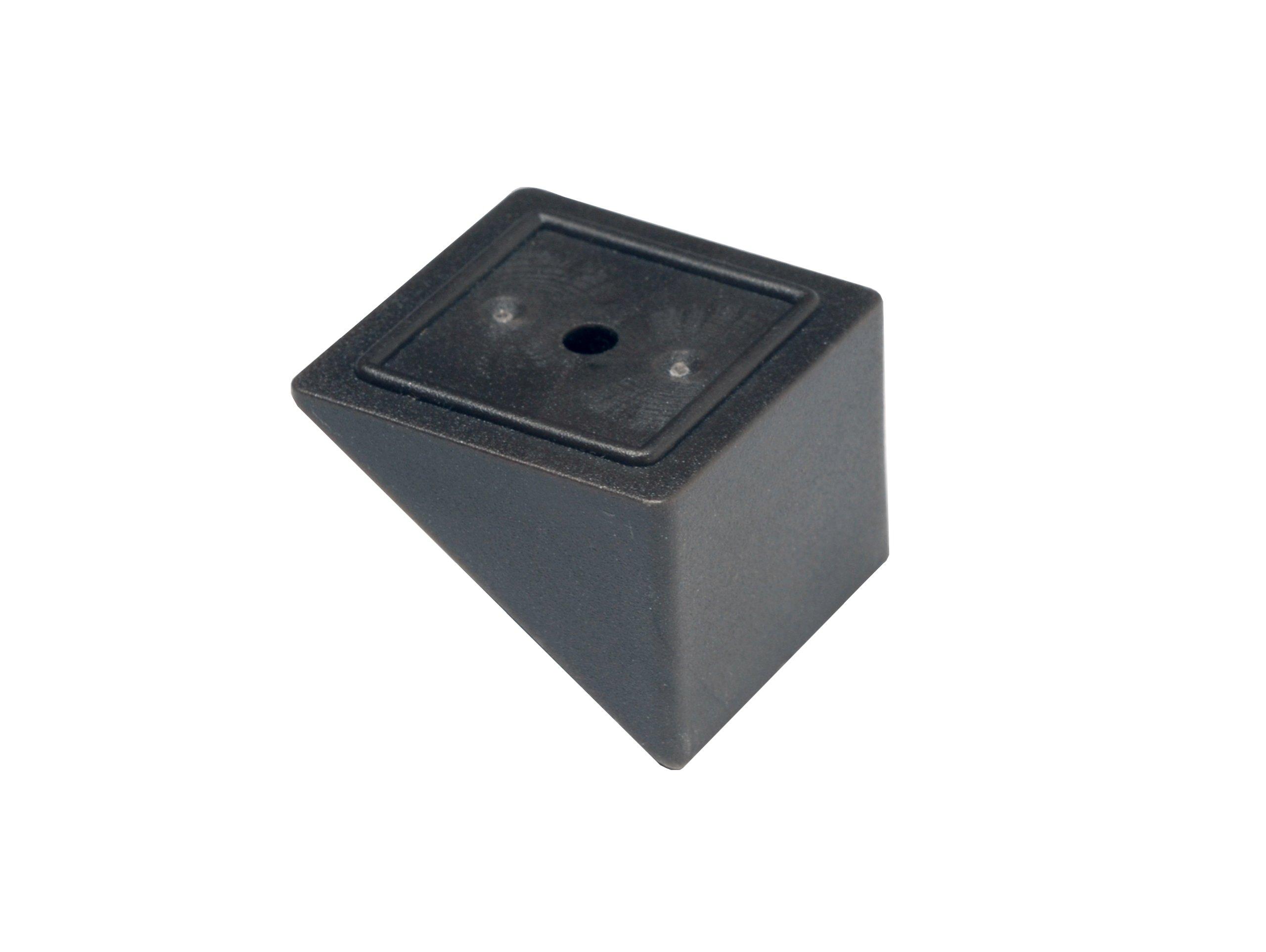 Deckorators 95881 Estate Stair Adapter, Black, 20-Pack