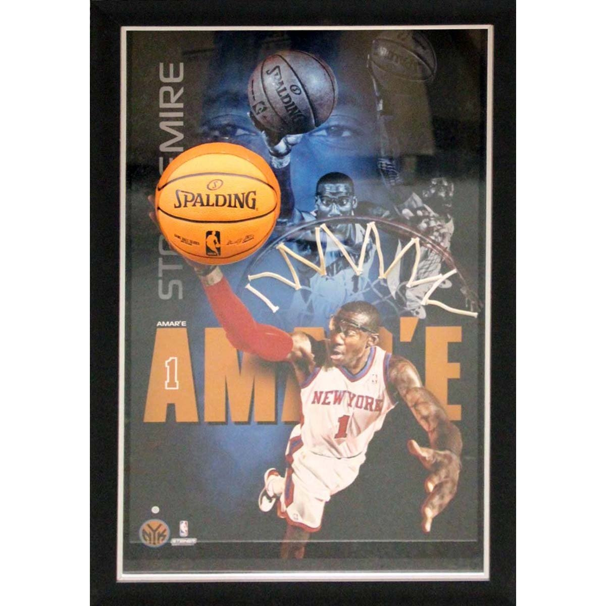 NBA New York Knicks Amar'e Stoudemire 'Dunk' Framed 20x32 Breaking Through Collage