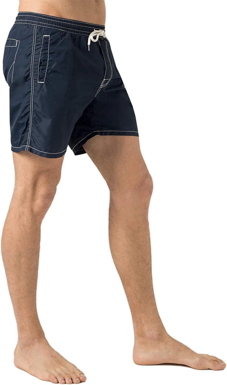 Pantaloncino Mare Uomo Grit Nylon Lavato Blu Roy Rogers