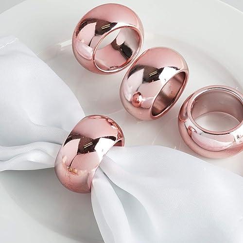 Efavormart Acrylic Napkin Rings