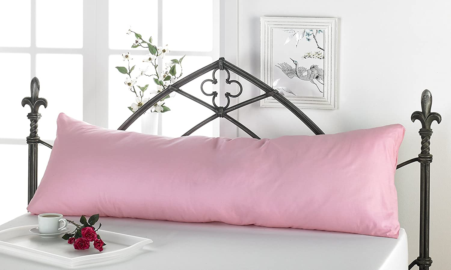 Pregnancy Pillow With FREE Cover Better Dreams Maternity Body Pillow In Seven Colours (white)