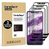 iVoler [3 Pack] Pellicola Vetro Temperato per Motorola One, [Copertura Completa] Pellicola Protettiva Protezione per Schermo per Motorola One