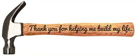 536835bf1fcc Father s Day Gift Thank You for Helping Me Build My Life DIY Gift ...