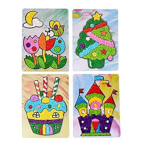 Domybest Gioco Eva Di Adesivi Colorati Di Natale Giocattoli