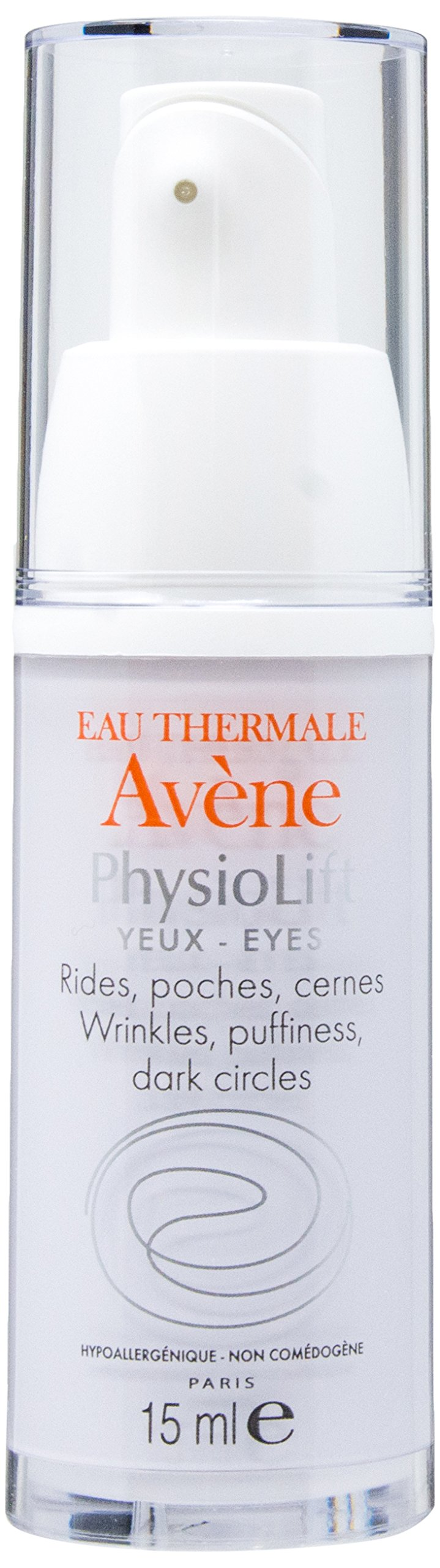 Eau Thermale Avène Physiolift Eyes Wrinkles, Puffiness, Dark Circles Cream, 0.5 fl. oz. by Eau Thermale Avène (Image #1)