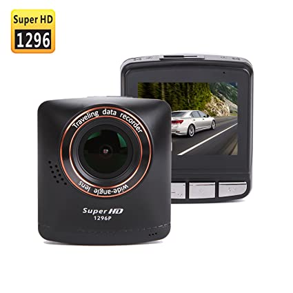 Amazon.com: SmarTure B200 1296P Super HD cámara SALPICADERO ...
