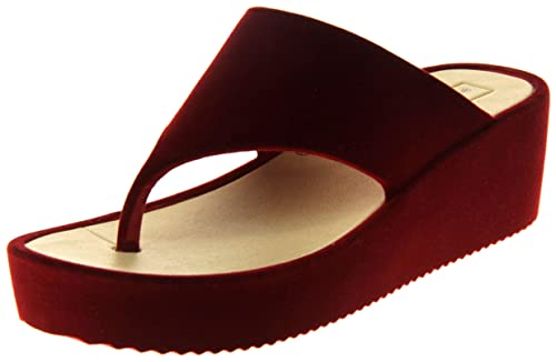 O80nnwkzpx Sandalia Cuña Mujer Dunlop Terciopeloamazon Plataforma jUMSVpGzLq