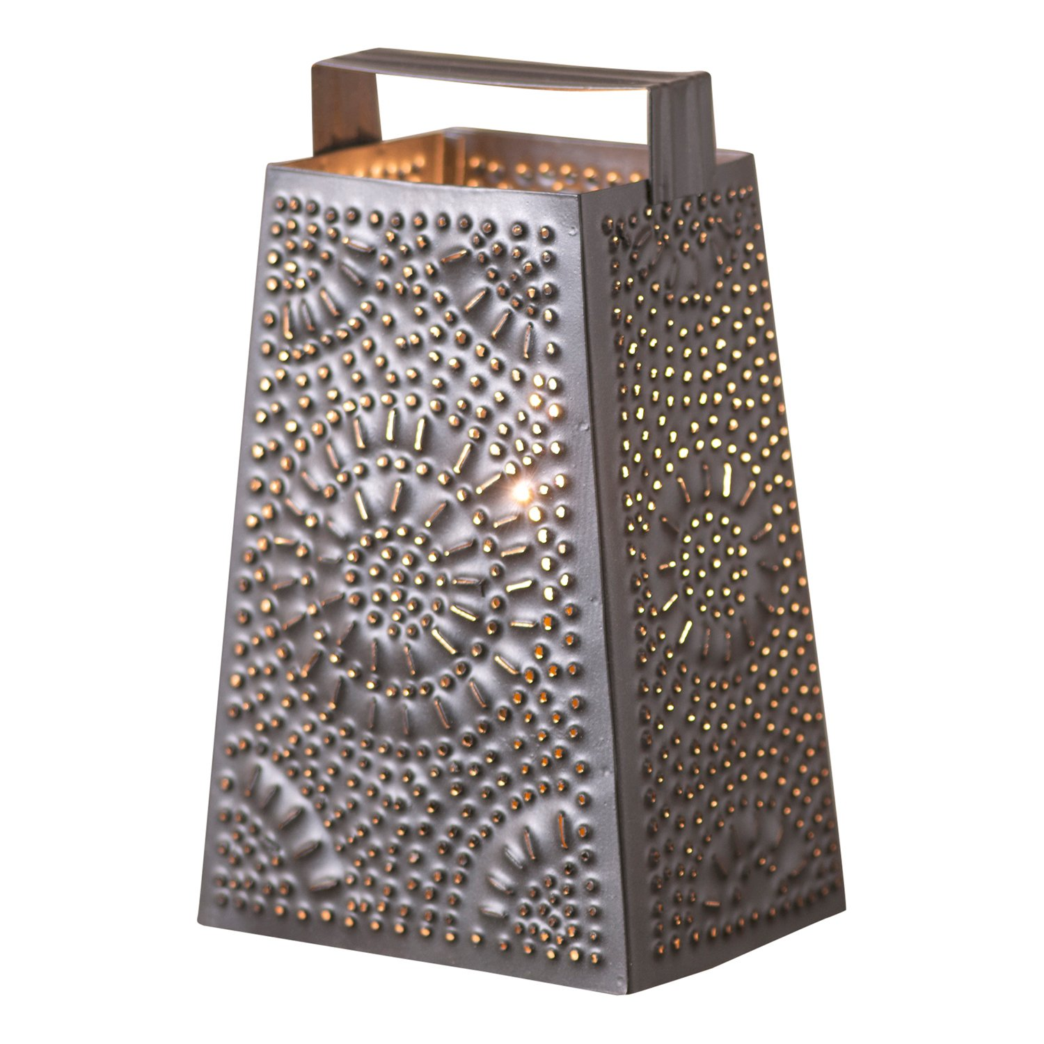 Cheese Grater Tabletop Accent Light by Irvin's Country Tinware (Image #1)