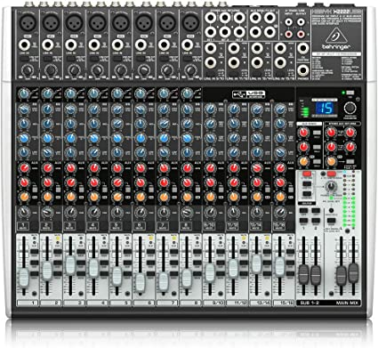 Amazon.com: BEHRINGER XENYX X2222USB: Musical Instruments