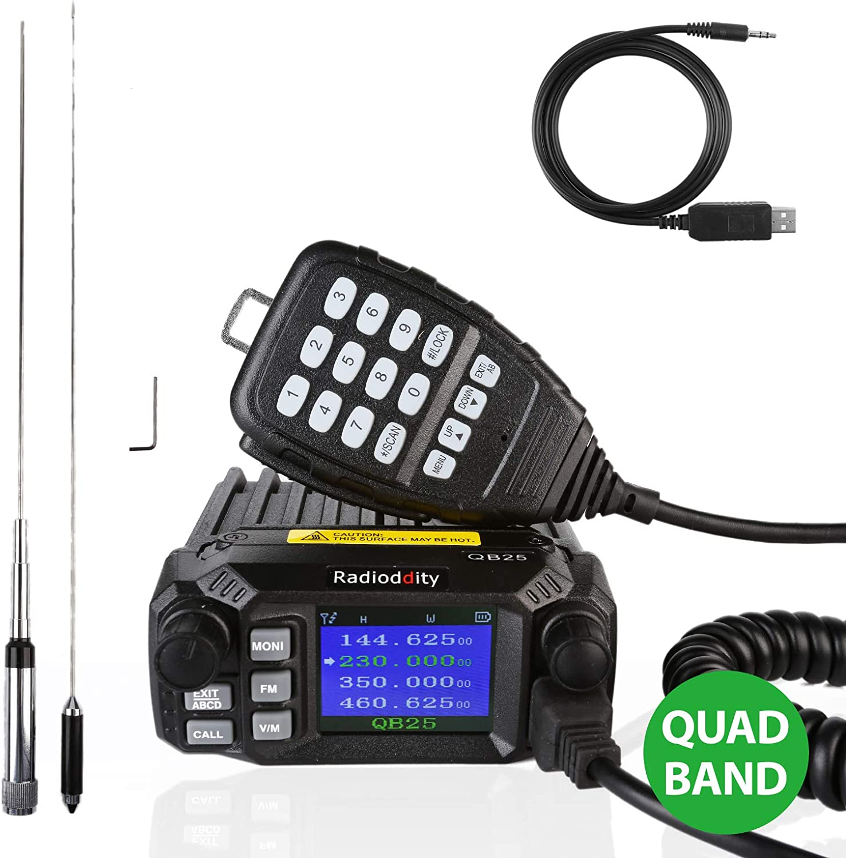 Radioddity Qb25 Pro Pmr Quad Band Dual Card Dual Elektronik