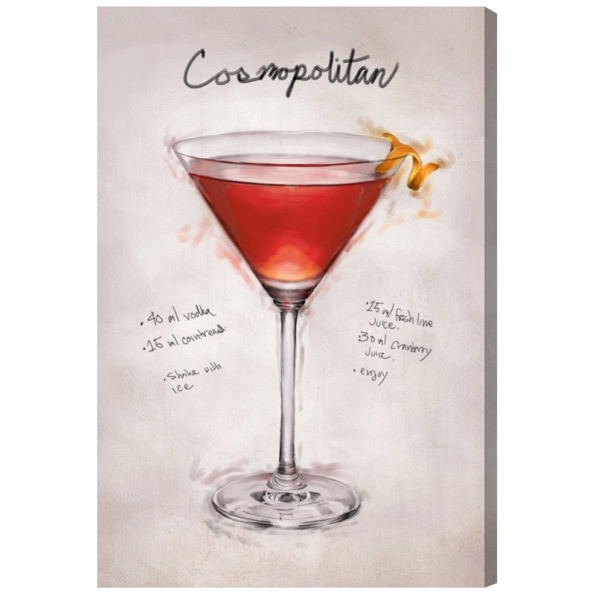 Amazon com: Cosmopolitan by Hatcher and Ethan x Oliver Gal
