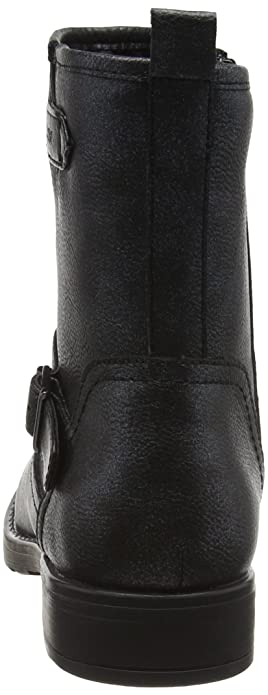 Amazon.com  La Redoute Geox Big Girls J Sofia K Ankle Boots With Buckle  Black Size 36  Shoes d32d21e9711e