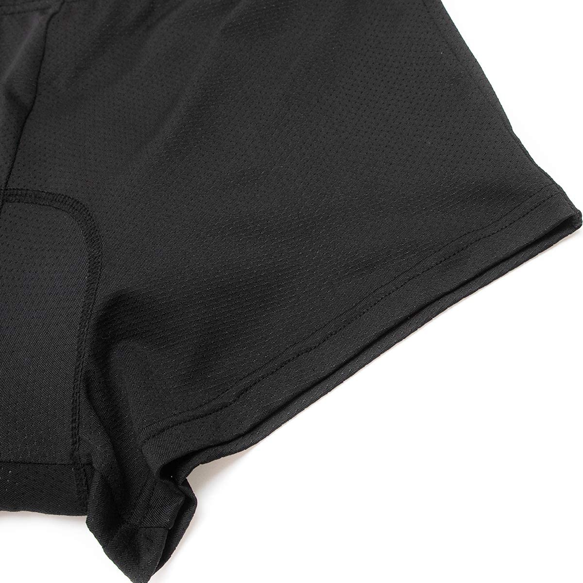 WOSAWE Mens Cycling 3D Padded Shorts Bike Riding Underwear Combo MTB Baggy Shorts