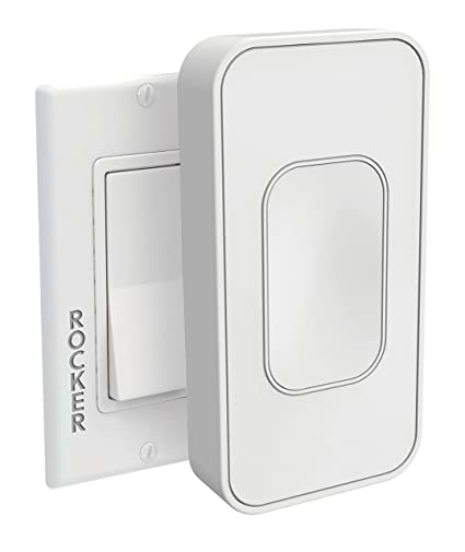 Rocker Light Switch >> Switchmate Snap On Instant Smart Light Switch That Listens Switchmate Rocker