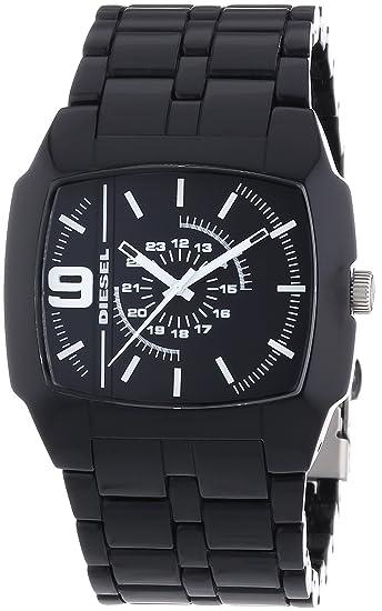 Diesel DZ1549 - Reloj analógico de Cuarzo para Hombre con Correa de plástico, Color Negro: Amazon.es: Relojes