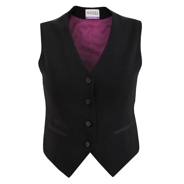 TALLA 44/Regular. Skopes - Chaleco formal de traje para mujer modelo Nina