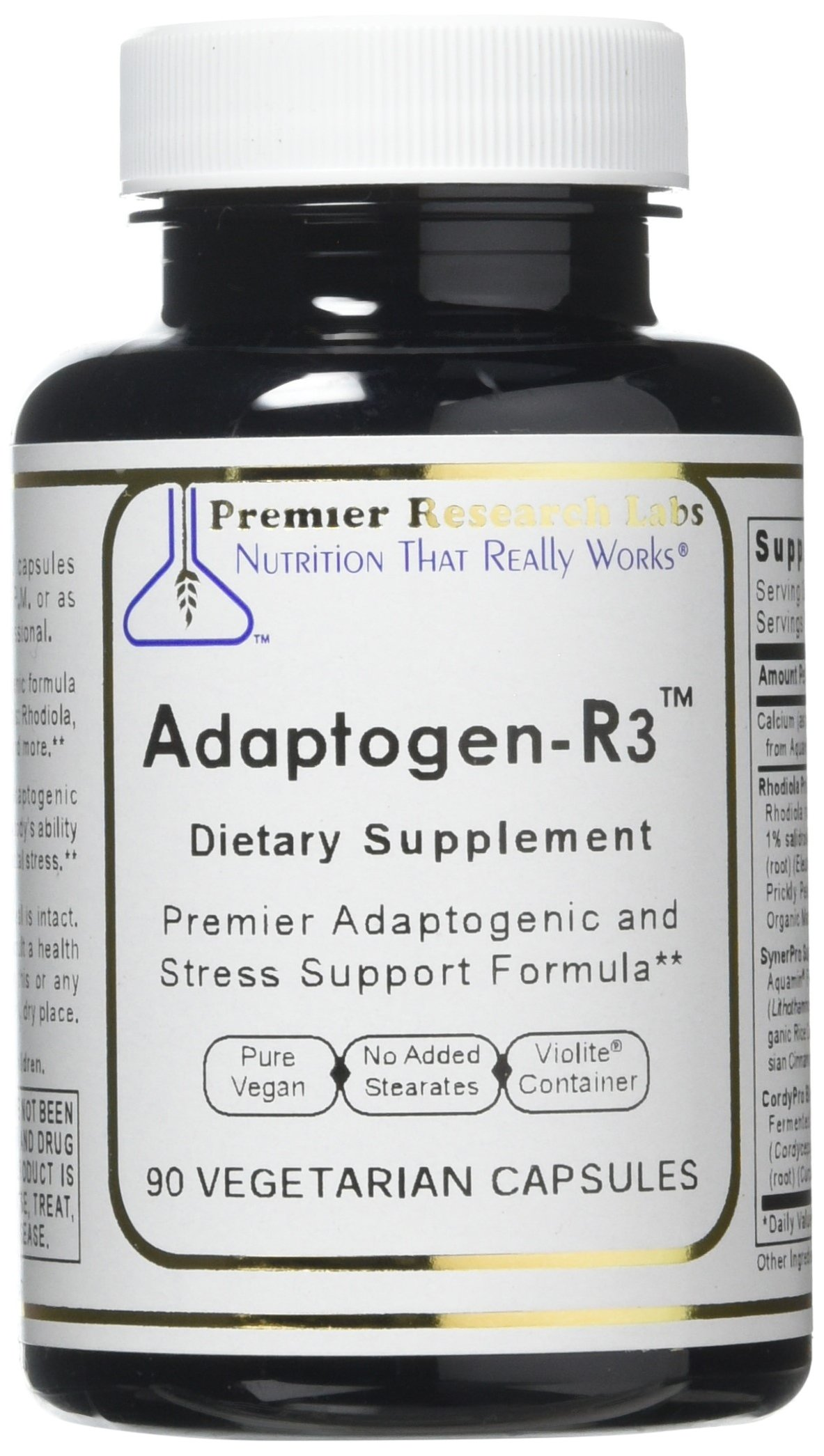 Adaptogen-R3 TM, 90 Capsules, Vegan Product, Premier Adaptogenic and Stress Support Formula