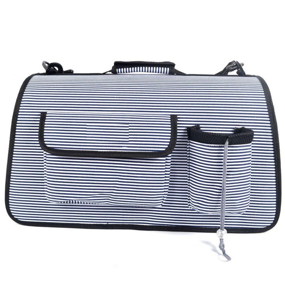 Black LargePet backpack travel bag Pet Cat Dog Supplies Foursided Breathable Mesh Meter High Backpack Out Of The Portable Pet Bag. warm (color   Black, Size   L)