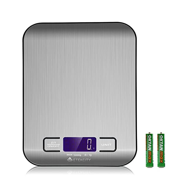 Etekcity Digital Kitchen Scale Multifunction F...