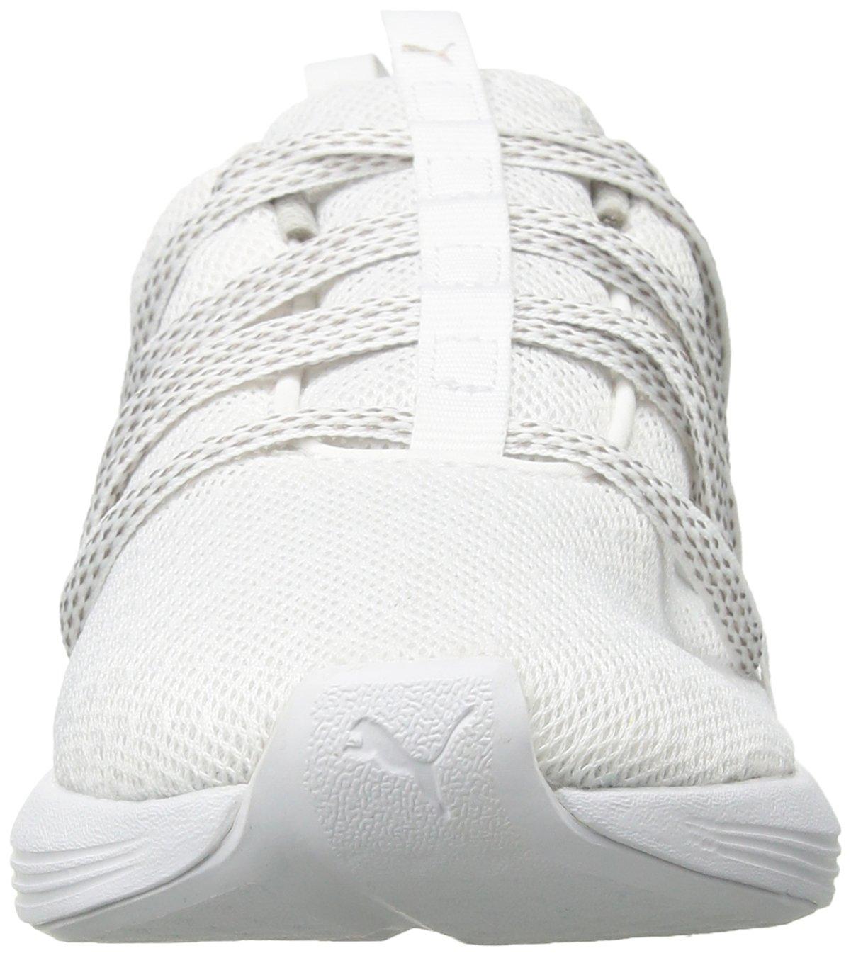 PUMA Women's Prowl Alt B07569NY3S Knit Mesh Wn Sneaker B07569NY3S Alt 6 B(M) US|Puma White-metallic Beige 6907e2