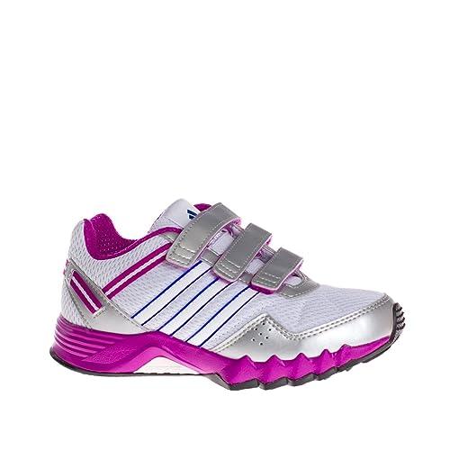 ADIDAS Adidas adifaito cf k runwht cobal zapatillas running nino: ADIDAS: Amazon.es: Zapatos y complementos