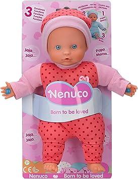 Comprar Nenuco - Muñeco Blandito 3 Funciones, hace sonidos de bebé, para niños a partir de 10 meses (Famosa 700014881) , color/modelo surtido