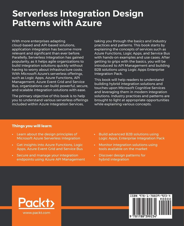 Buy Serverless Integration Design Patterns with Azure: Build