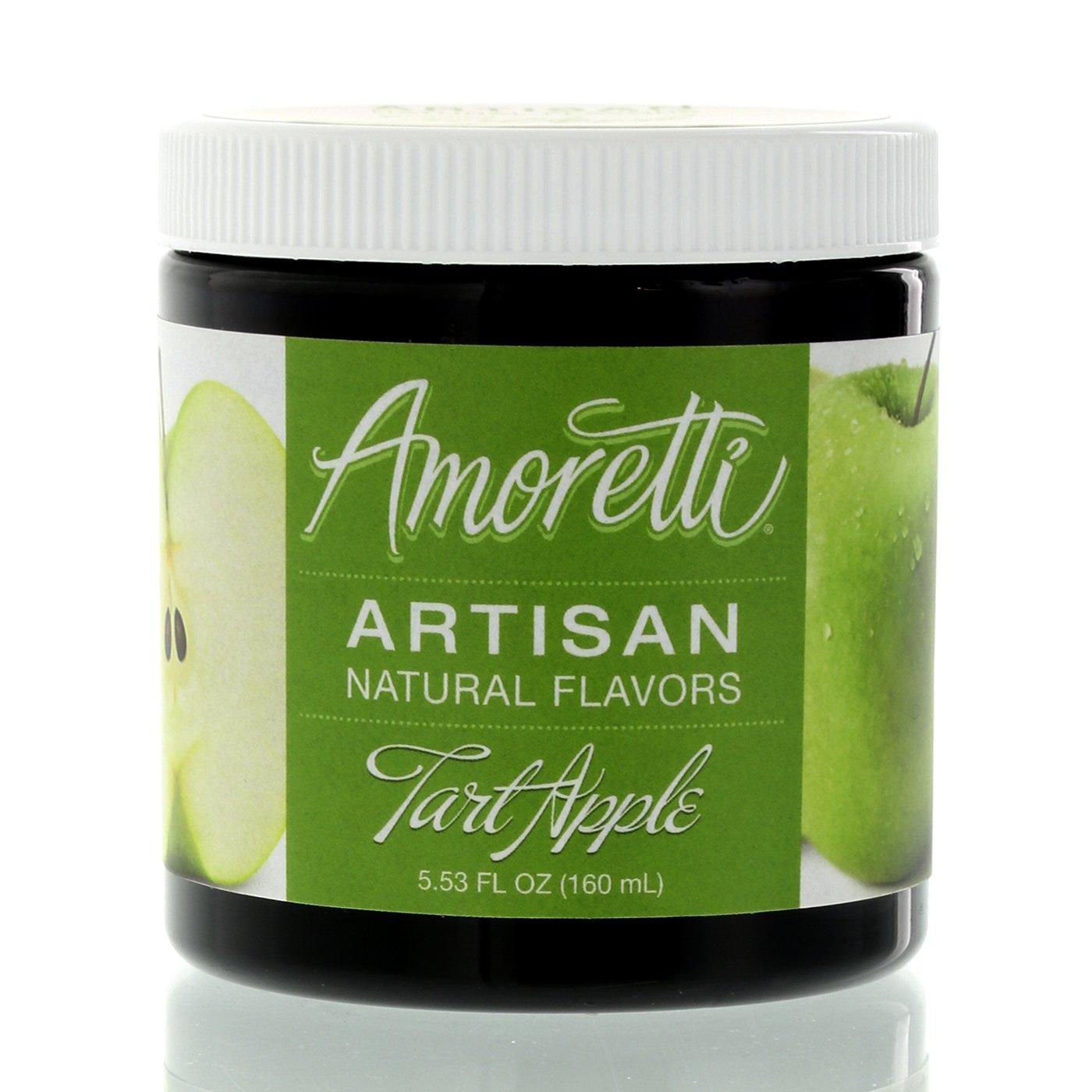 Amoretti Natural Artisan Flavor Apple Tart, 5.53 Fluid Ounce