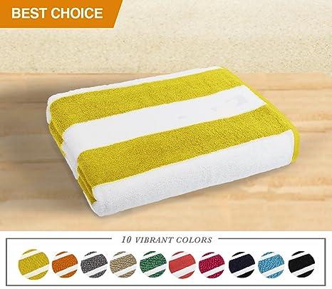 Gran tamaño toalla de playa, piscina toallas – perfecto lujo suave y peluche Blanket-