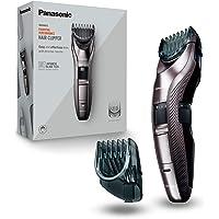 Panasonic ER-GC63-H503 - Recortadora eléctrica de precisión para barba, cabello y cuerpo, 39 ajustes, con o sin cable…