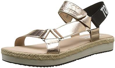 Hilfiger Denim Damen Fresh Modern Sandal Slingback