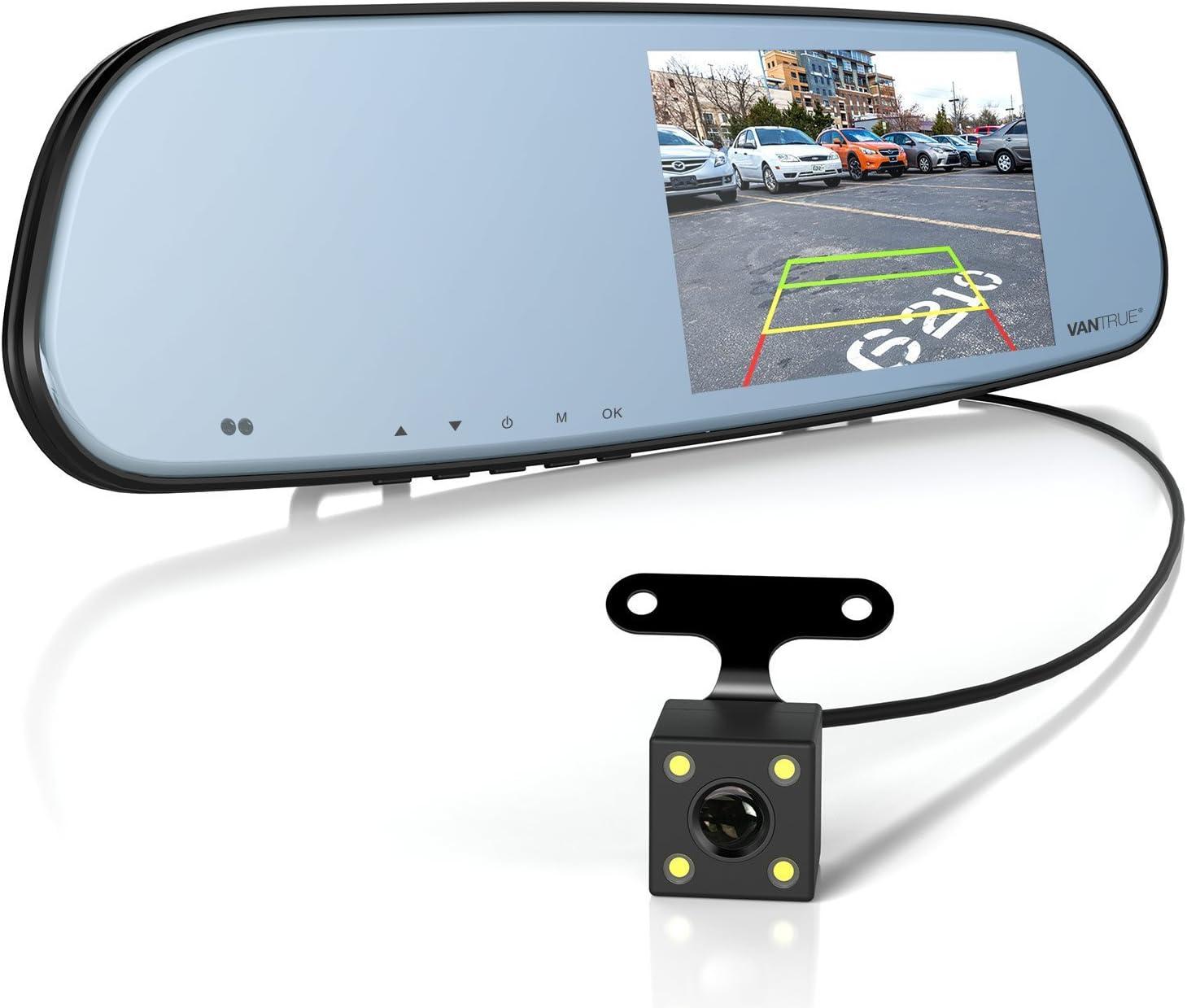 Vantrue N3 Fhd 1080p Rear View Mirror Dash Cam Car Elektronik