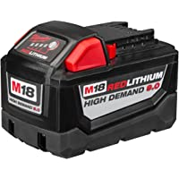 Milwaukee M18 18VDC Lithium-Ion High Demand 9.0 Ah Battery Pack (Red)