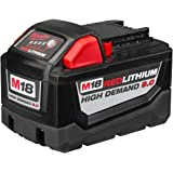 Milwaukee Electric 48-11-1890 M18 18VDC Red Lithium-Ion High Demand 9.0 Ah Battery Pack