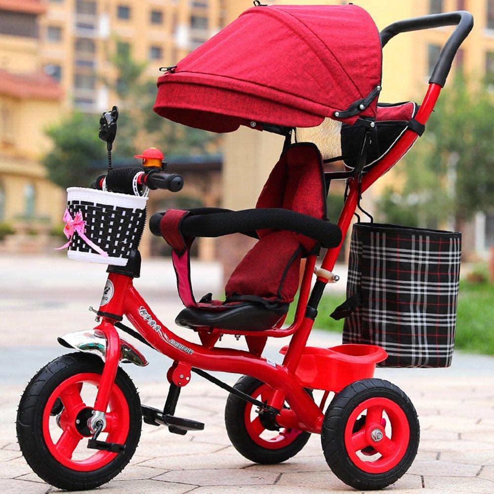 tienda en linea Bicicletas, triciclos de niños, cochecito de niña, Cocherito Cocherito Cocherito de luz, bicicleta para niños ( Color   Rojo )  comprar marca