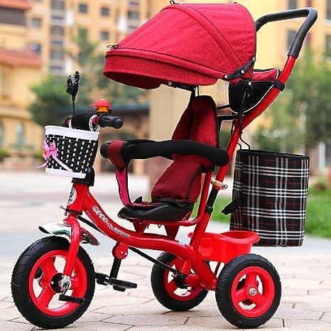 Childrens bike Carrito inflable, carro de bebé del bebé ...
