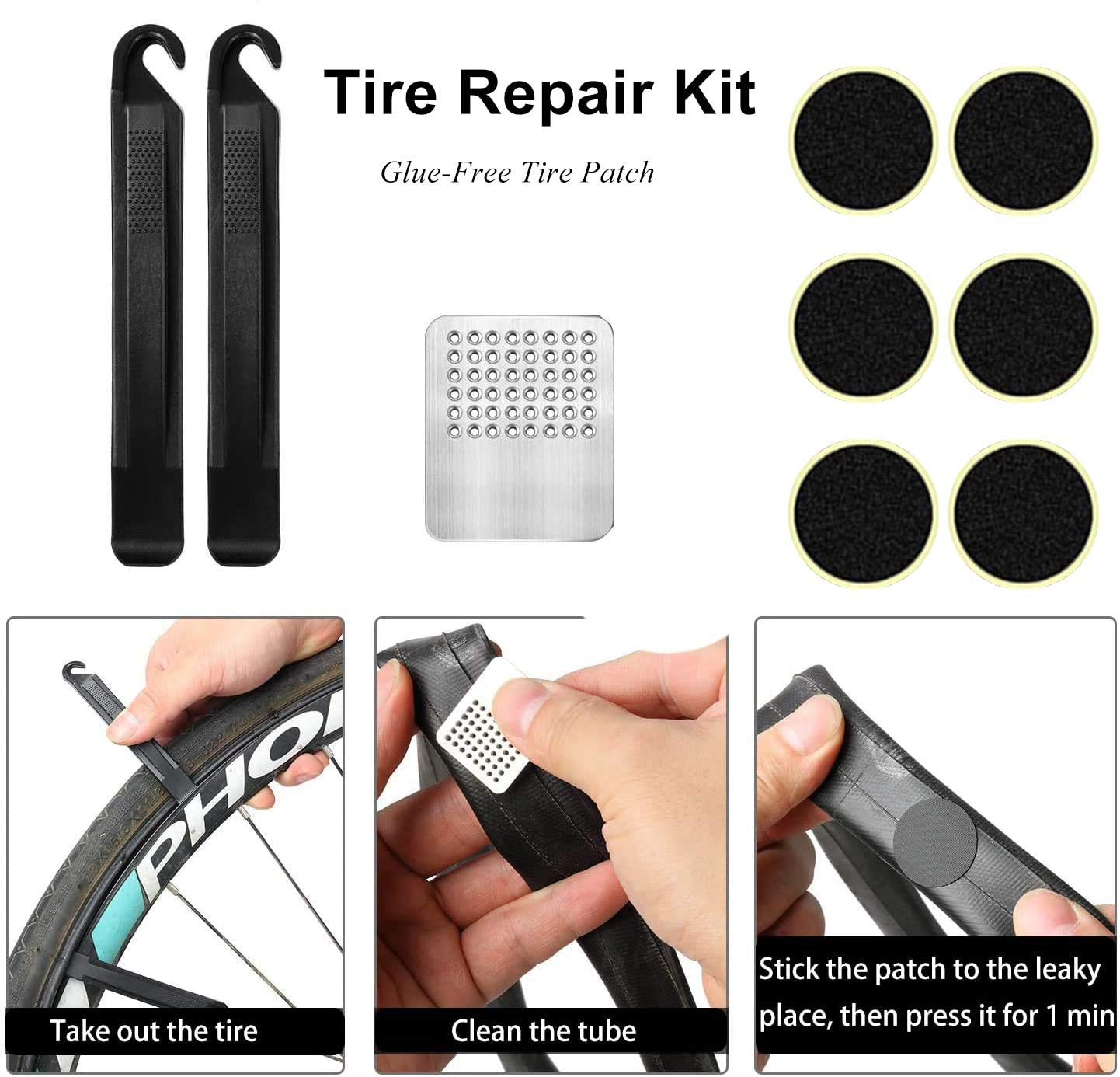 Ball Pump Needle//Frame Mount Bike Pump,Aluminum Alloy Portable Mini Bicycle Tire Pump,Super Fast Tyre Inflation Compatible with Universal Presta and Schrader Valve Frame Mounted Air Pump for Road