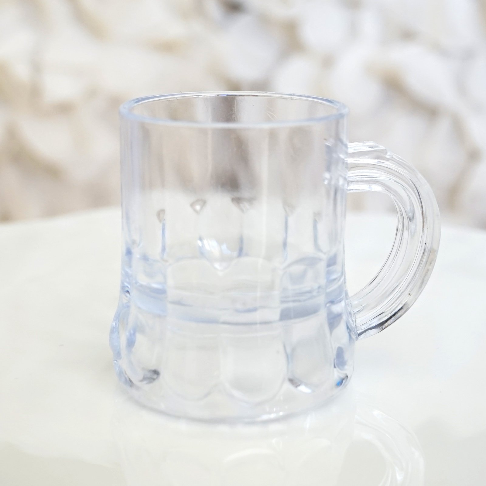 Mini Clear Plastic Beer Mug Shot Glasses- 1.75'' Tall (72 Count) by New Paradise (Image #3)