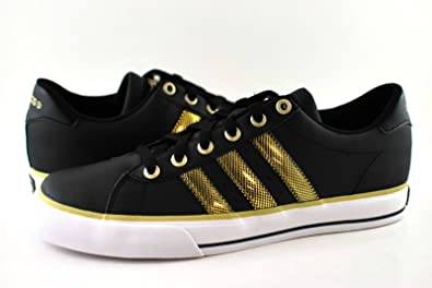 ADIDAS SE DAILY VULC STRIP BLACK/GOLD G31374 MEN SHOES US SIZE 9