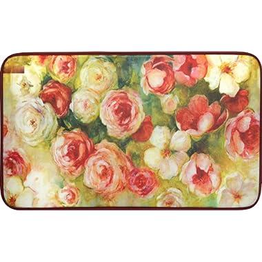 Chef Series 18 x30  Antifatigue Kitchen Mats (Roses)