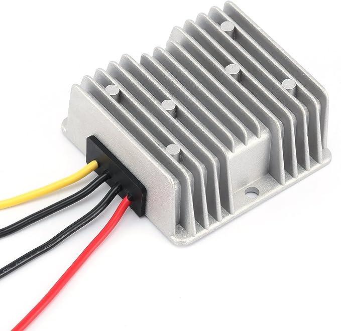 Estabilizador de voltaje de CC 8-40V a 12-V 6A 72W Regulador del convertidor de fuente de electricidad para autom/óvil Impermeable