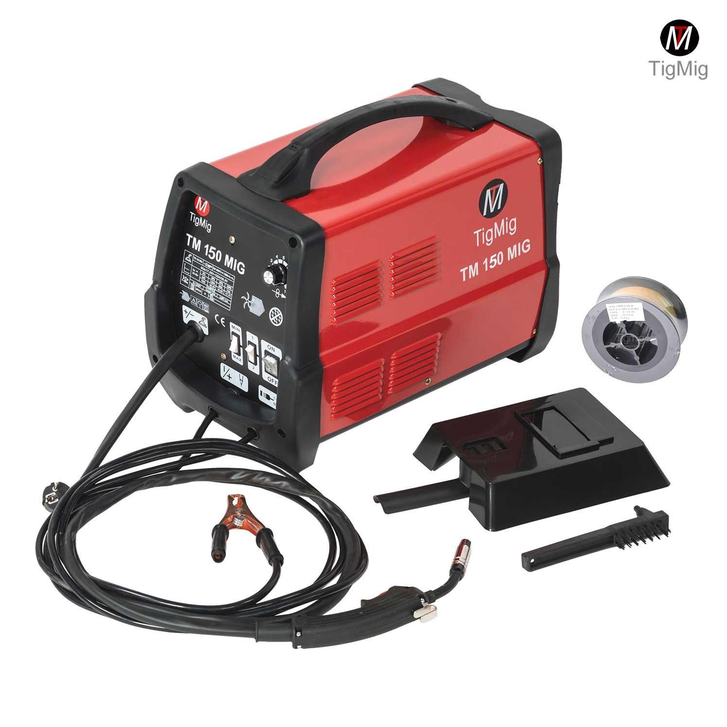 TM 150 MIG AC Schweiß gerä t mit kontinuirlichem Schweiß draht ohne Gas TIGMIG