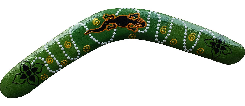 Raan Pah Muang Brand Thai Made Australian Aboriginal Art Decorative Boomerang RaanPahMuang