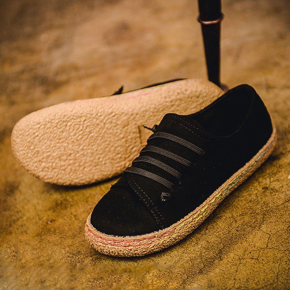 Yesmile Zapatos de mujer❤️Zapatos Planos de Mujer de Las se/ñoras Suaves del Tobillo Zapatos de Mujer de Las Botas de Gamuza con Cordones de Cuero Casual Planos Loafers zapatos deportes